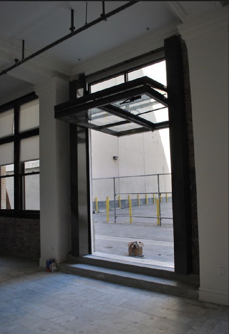 Glass Garage Door Interior - Industrial decor style is perfect for any space an industrial garage is always a good
