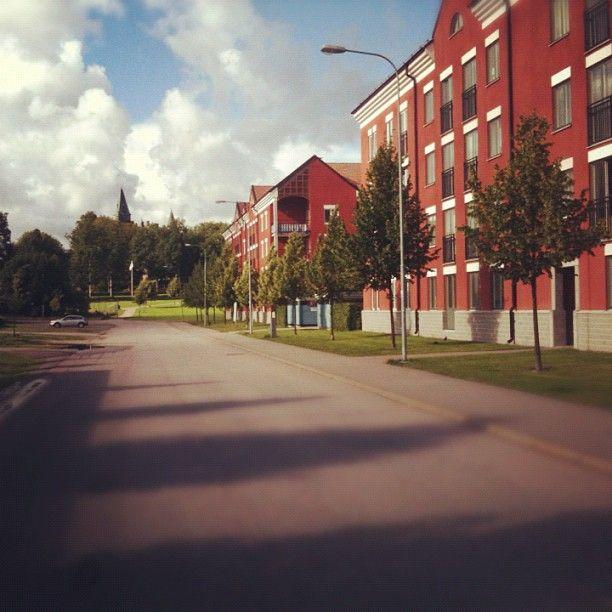 Slottstaden #Vaxjo #VaxjoCampus #linneuniversitetet