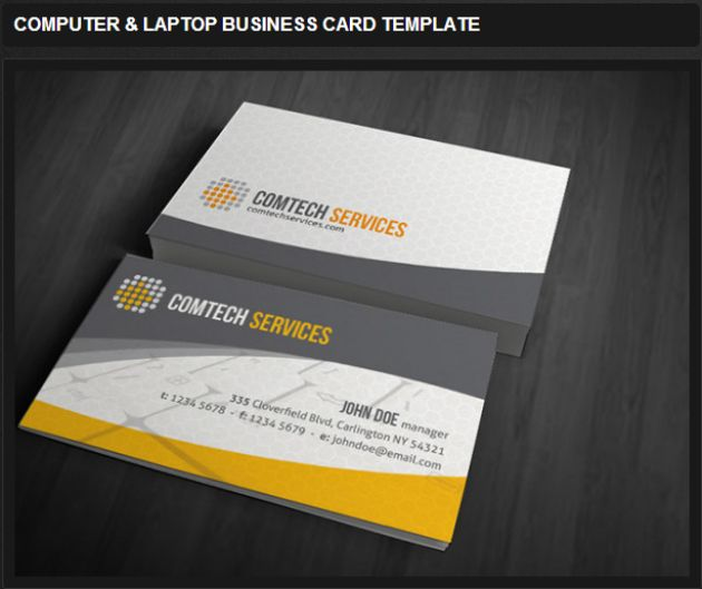 Pc Repairs Business Card Google Search Business Card Template Free Business Card Templates Google Business Card