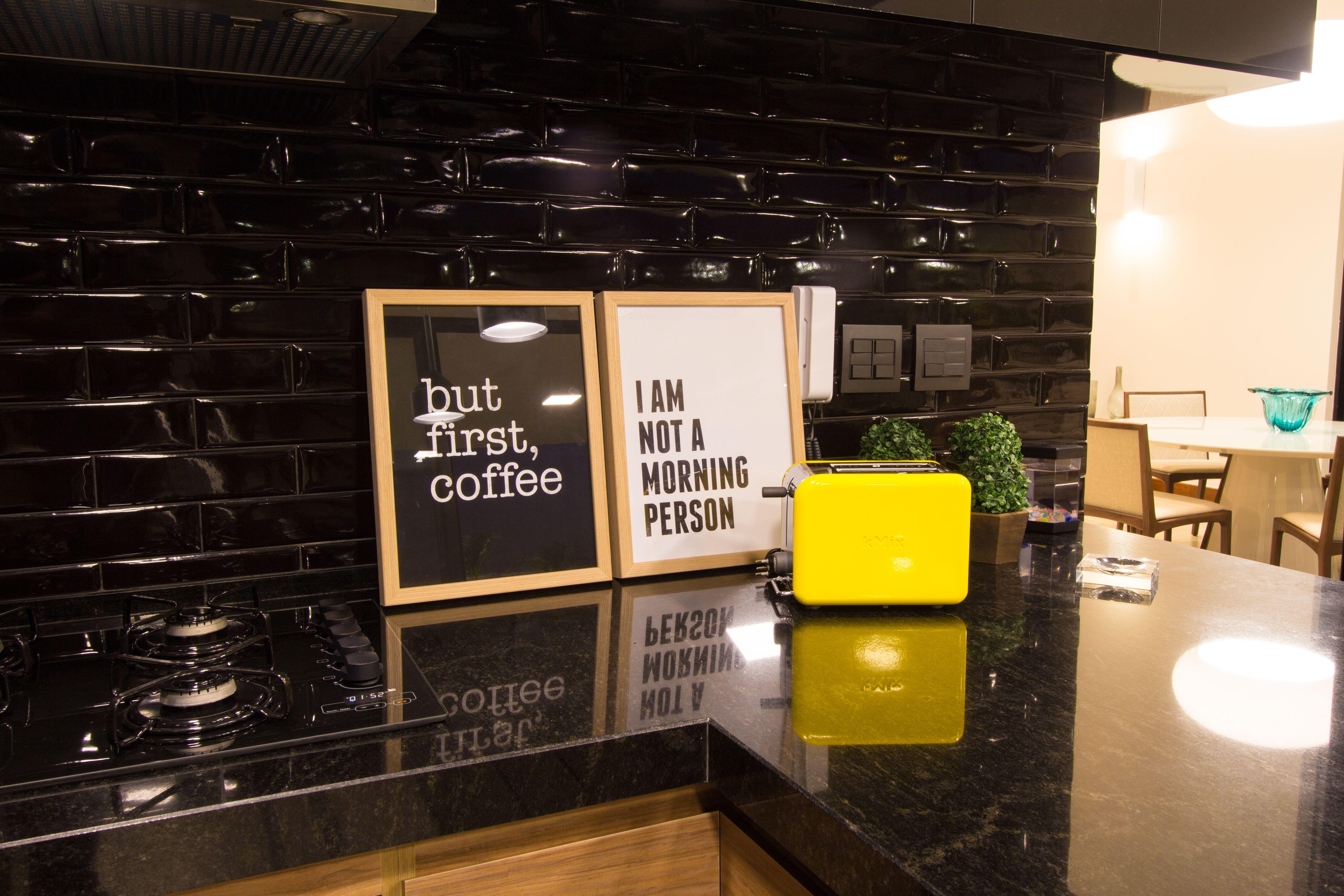 Tijolinhos Black Da Linha Liverpool Portobello Dao Personalidade Aos Ambientes Integrados Ambiente Cozinhas Liverpool