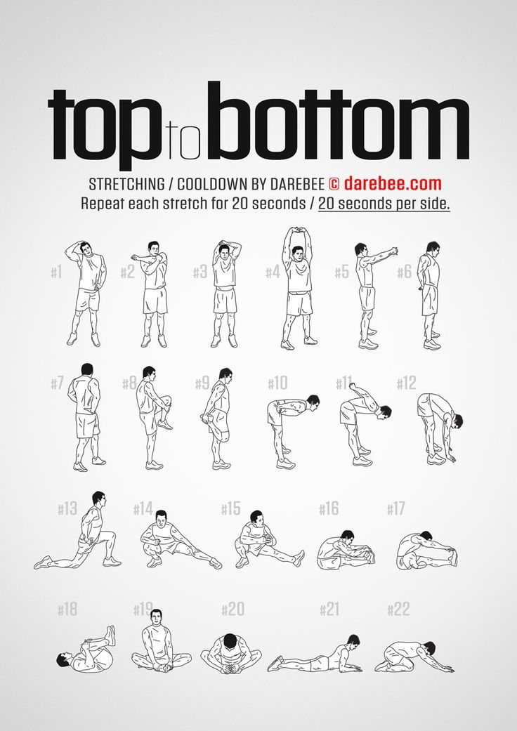 Top to Bottom Workout  Cool Down Top to Bottom Workout  Cool Down