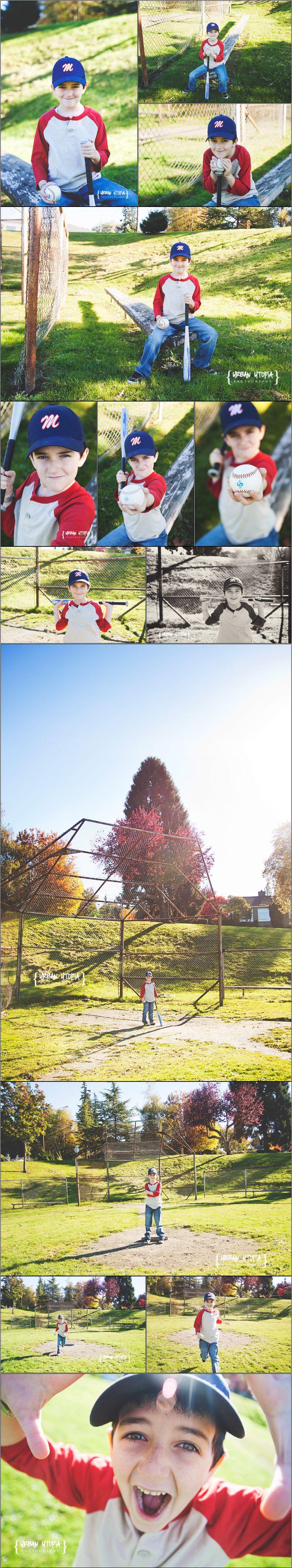 Urban Utopia Photography - Seattle Photographer and Beyond 7 year old boy session, baseball child session, baseball session, child session, boy child session, birthday session, birthday boy session, seattle photographer, everett child photographer www.urbanutopiaphotography.com