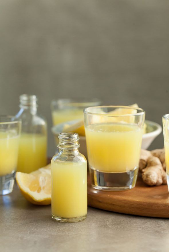 Pineapple Ginger Wellness Shots | A spicy sweet juice shot to support good diges...   - Ayurveda and Health -