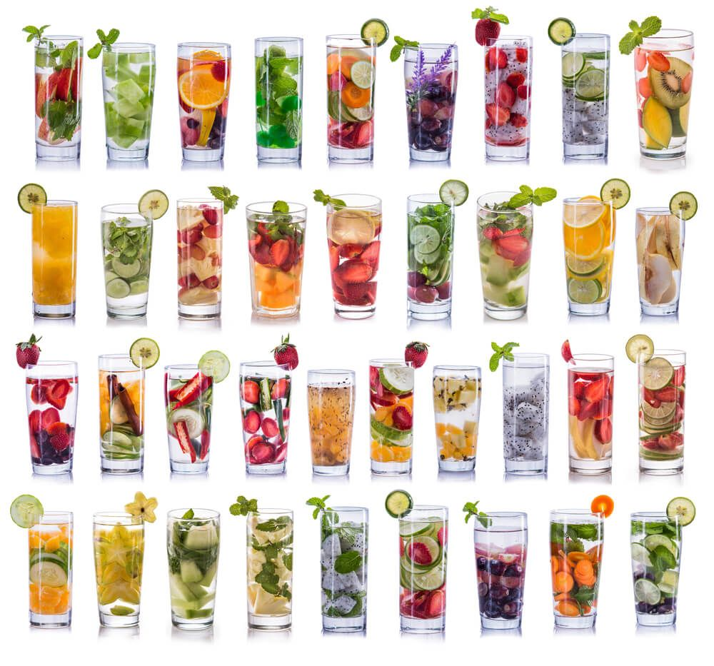 How To Infuse Water With Fresh Produce + Refreshing