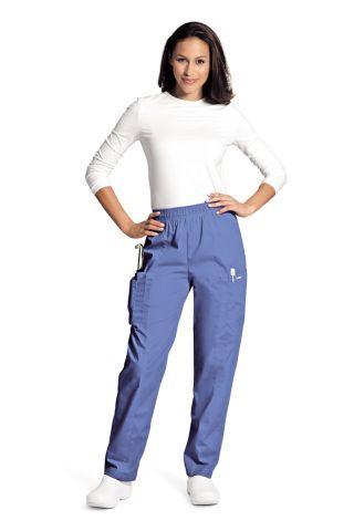 2838e6904d6 Landau 8501 Cargo Elastic Waist Pant   Scrub Pants (Bottoms ...