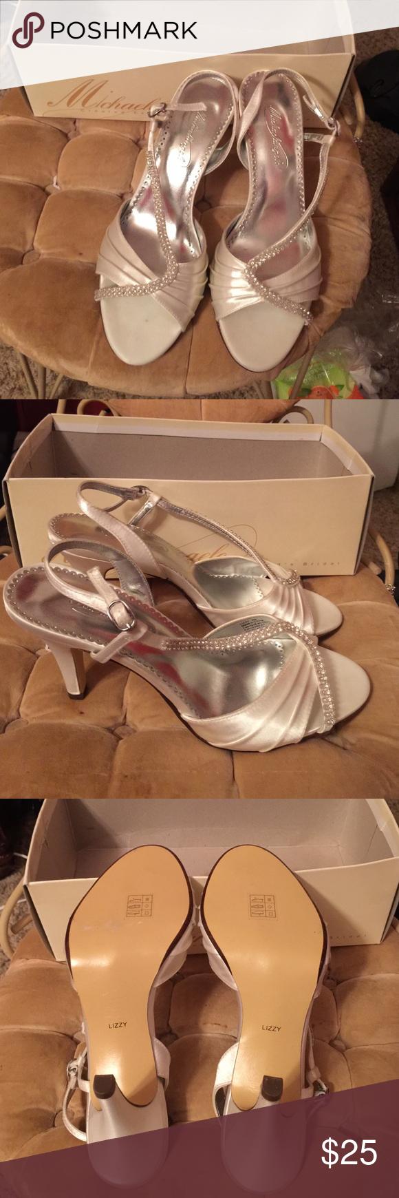 Beautiful New Michaelangelo Wedding Shoes Boutique