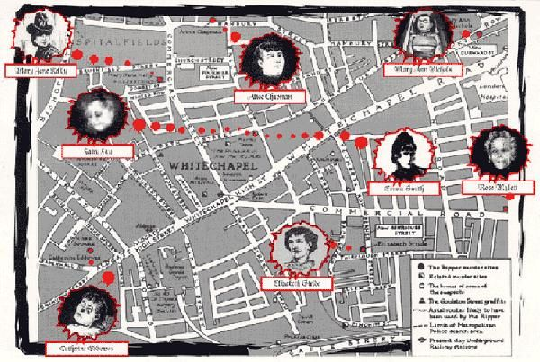 Related Image Unsolved Whitechapel Map