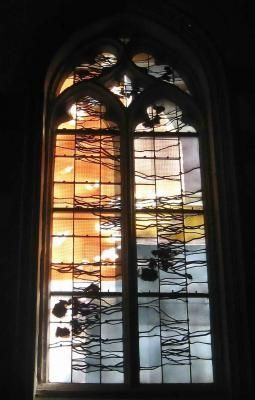 Louis Rene Petit Glass Windows Of The Here And Now Stained Glass Designs Stained Glass En