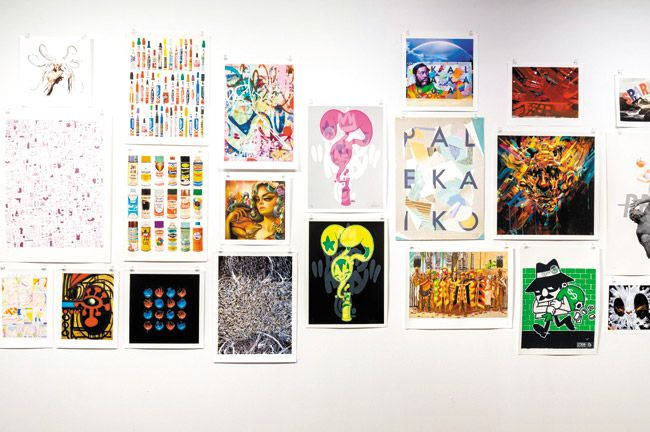 Samples of some 2014 POW! WOW! art