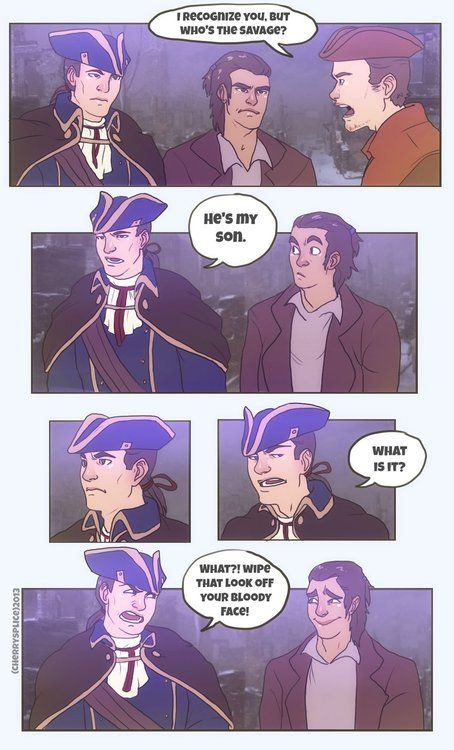 AC3- You Do Care! by cherrysplice on Deviantart ~ I think I made that face too. ^u^
