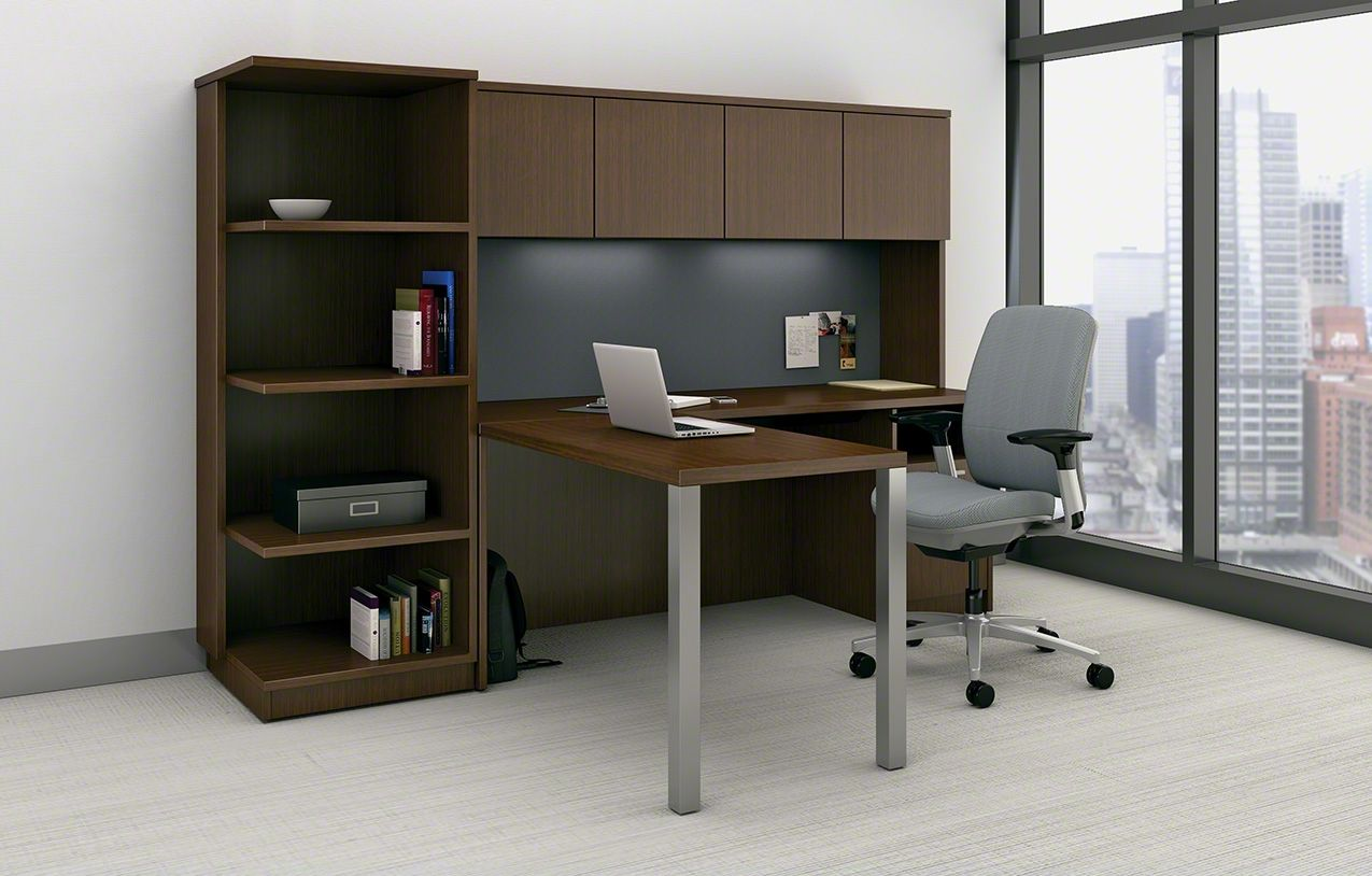 Currency Contemporary Desk System Steelcase