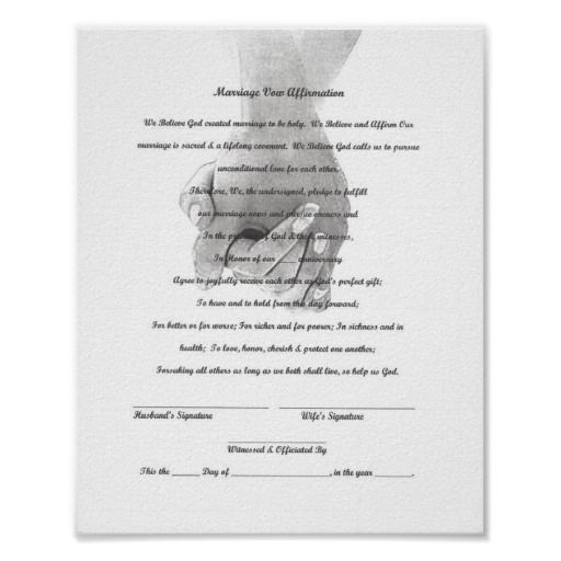 Do You Need A Vow Renewal Certificate to Renew Your Vows? | Wedding ...