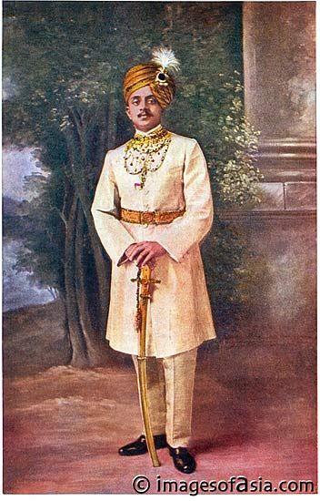 Yuvaraja Sri Kantirava Narasimha Raja Wadiyar Bahadur -- 1912 Chennai