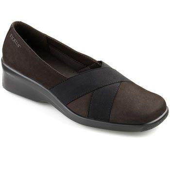 Pandora Shoes - Ladies Stretchy Cross