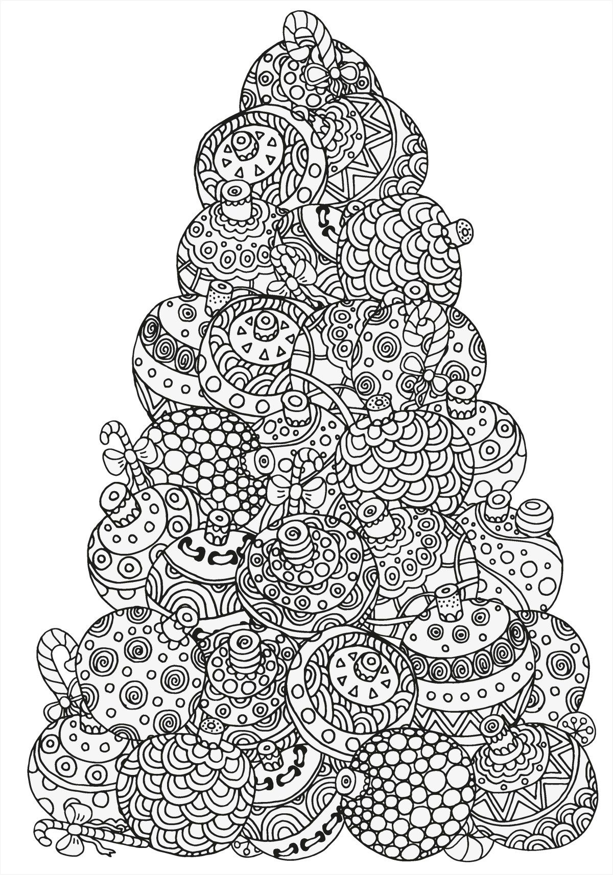 5 Absolutely Free Beautiful Christmas Colouring Pages