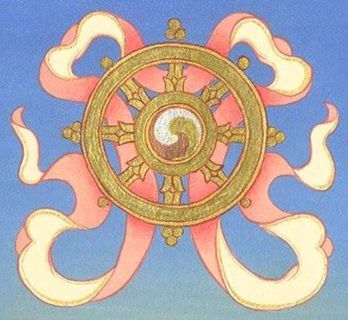 Image result for dharma wheel