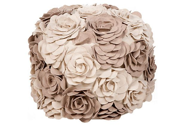 Rose Pouf: I just tried to buy this but it was sold out :( So I will just pin it instead. sad