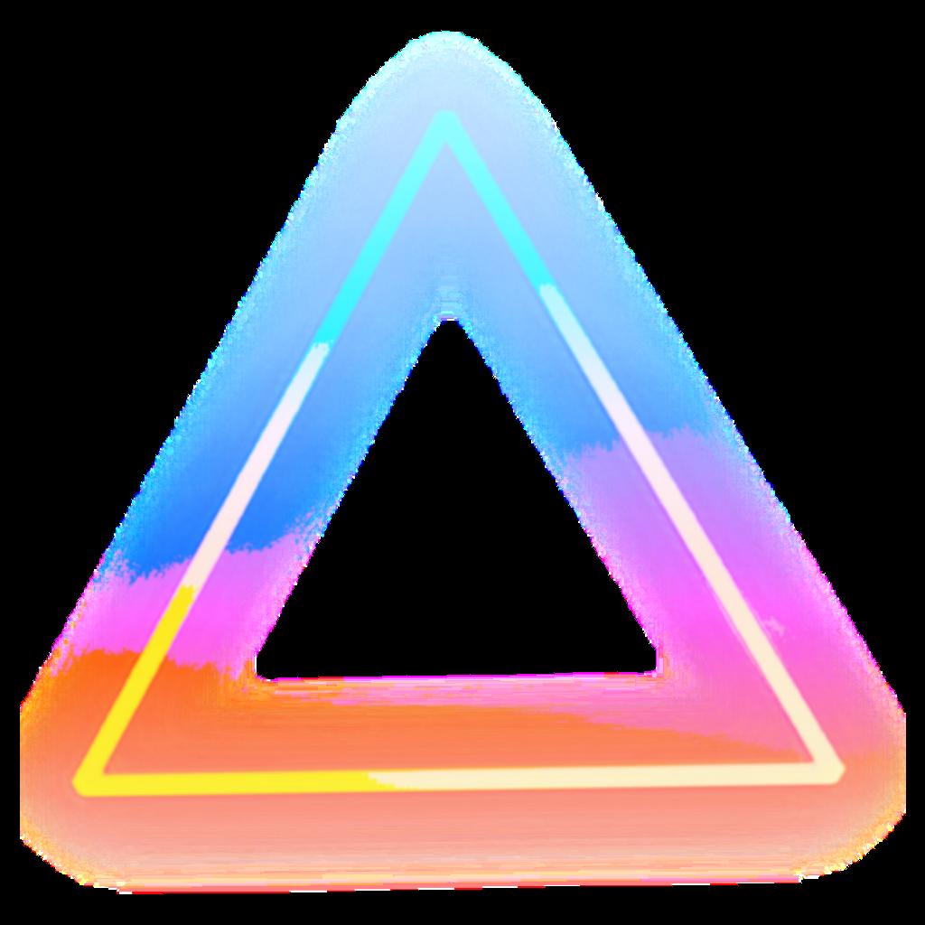 mimi üçgen neon Sticker by 🇹🇷 Meryem