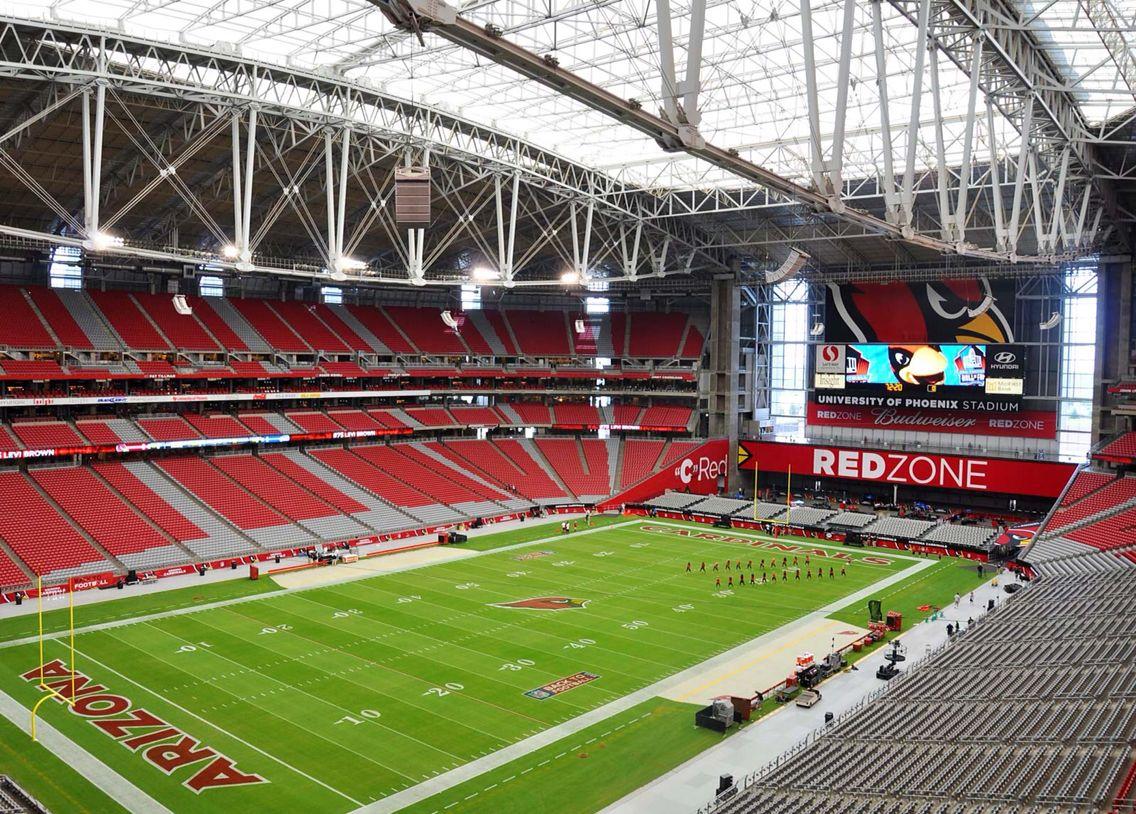 University Of Phoenix Stadium Glendale Az Nfl Stadiums Stadium Super Bowl Stadium