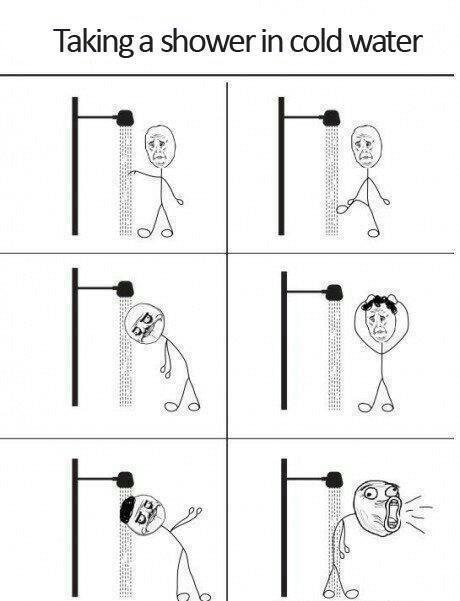 Tomar Banho No Frio Vai Tomar Banho Piadas