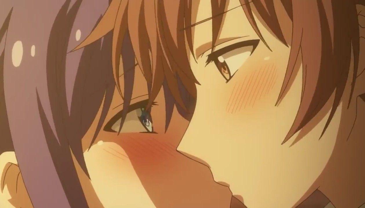 Kiss Ao Chan Can T Study Episode 9 Aesthetic Anime Anime Romance Anime