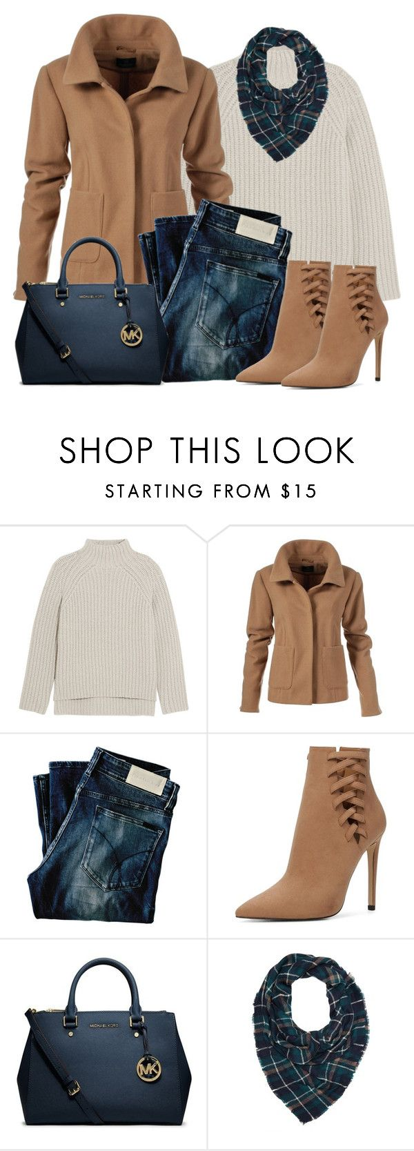 """""""Untitled #1272"""" by gallant81 ❤ liked on Polyvore featuring Theory, Calvin Klein Jeans, ALDO, Michael Kors and Charlotte Russe"""