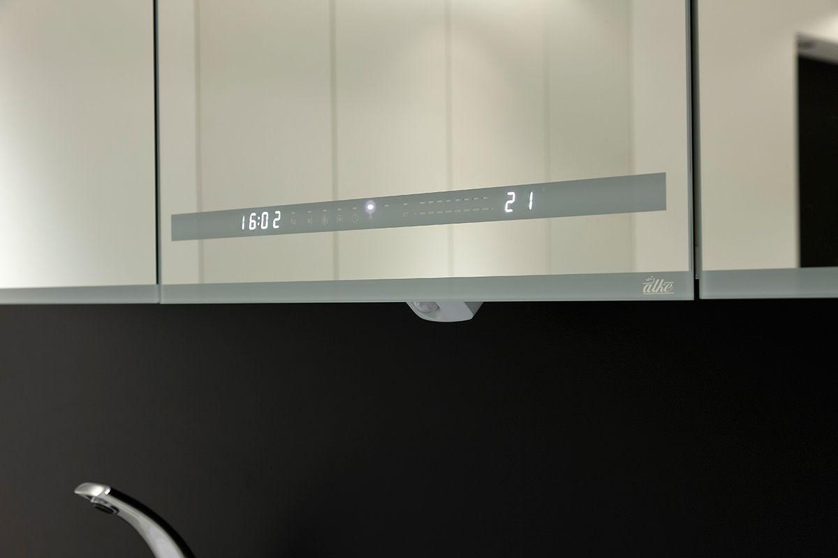 Alke Smart Mirror: tijd, gewicht, muziek en anti-aandamp spiegel ...