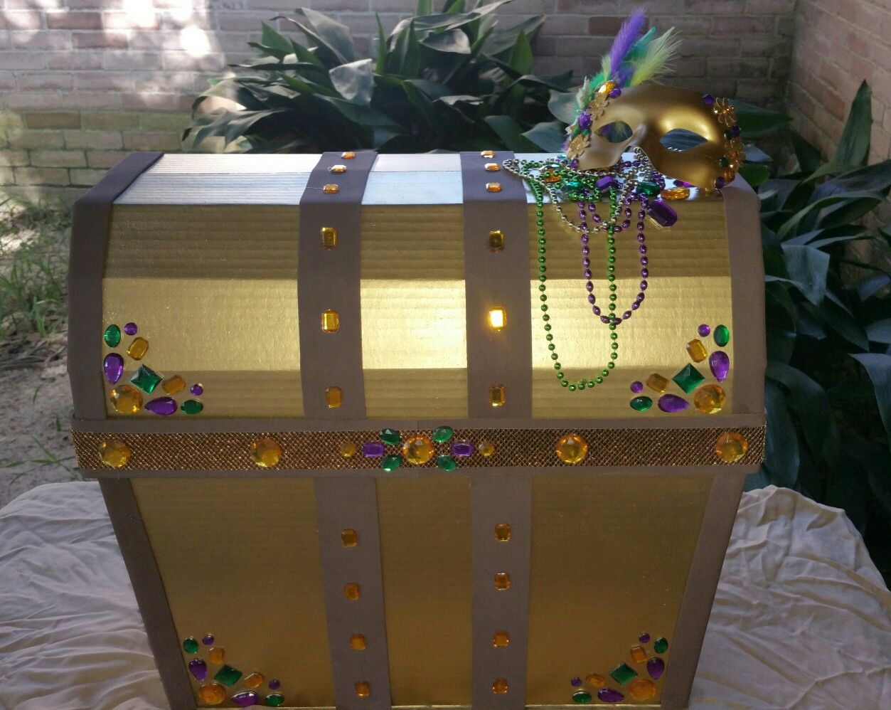 Mardi Gras Prop Box For Preschool With Images