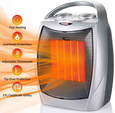 Ceramic Space Heaters in 2020 Reviews