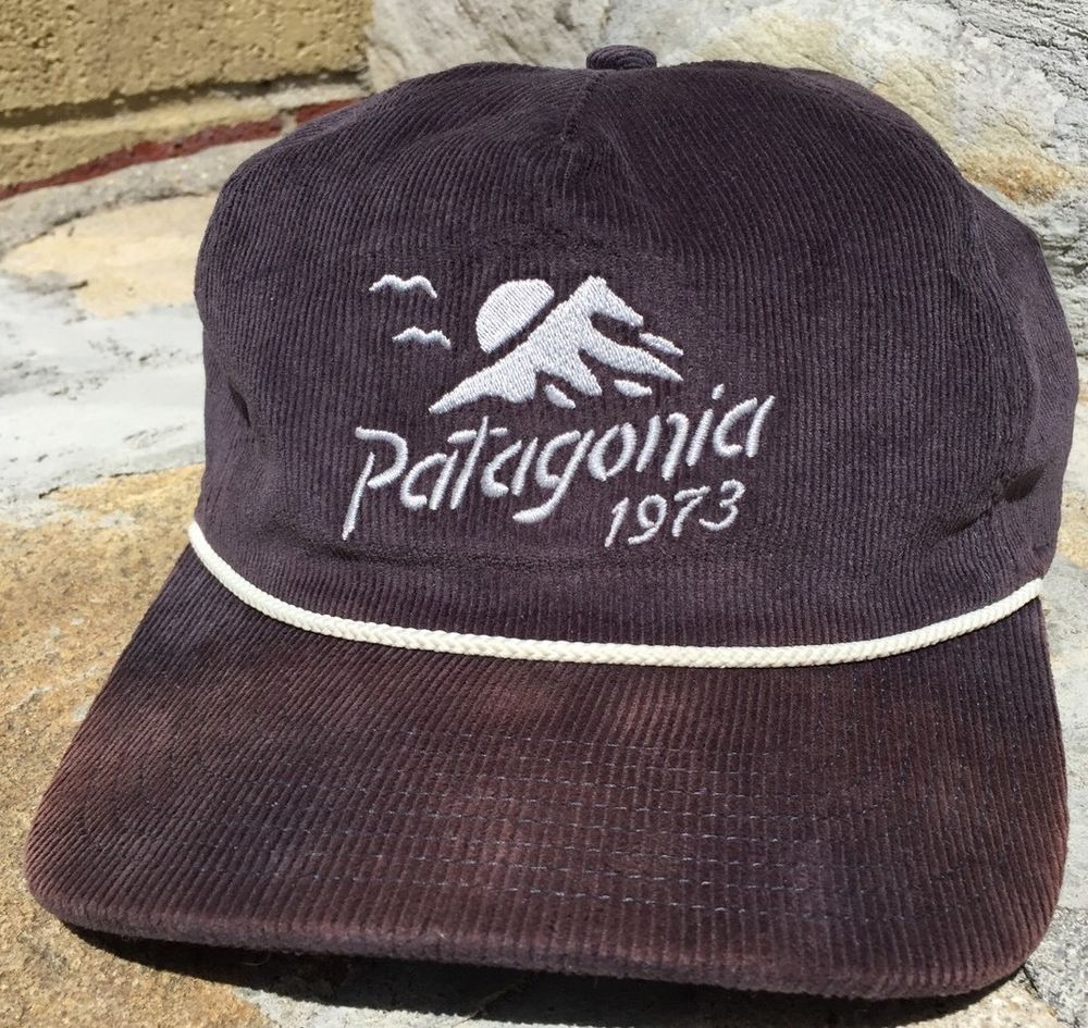 32c89a15f25ef EXTREMELY RARE Patagonia Coastal Range Corduroy Hat Vintage Outdoors Unique  OSFA  Patagonia  Trucker