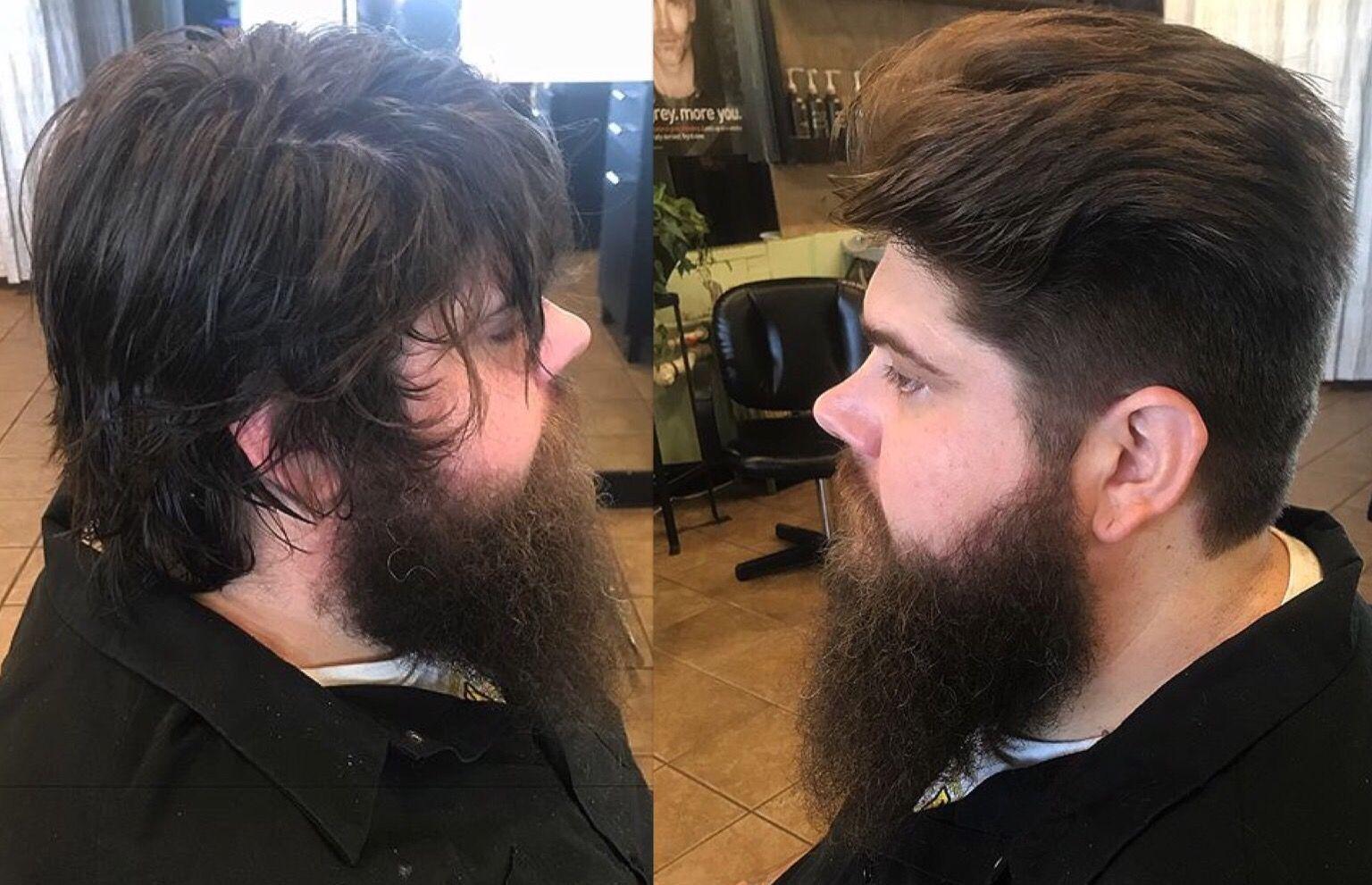 Transformation men menshair hair haircut menshaircut