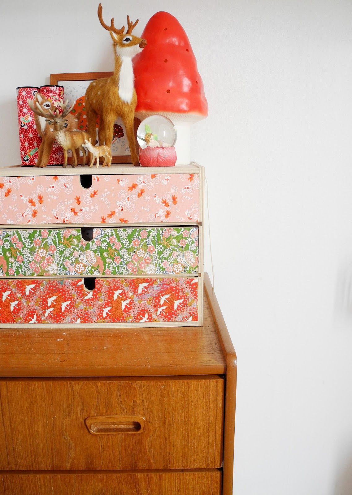 Vintage fabric an IKEA moppe box... | Kids | Pinterest | Villa ...