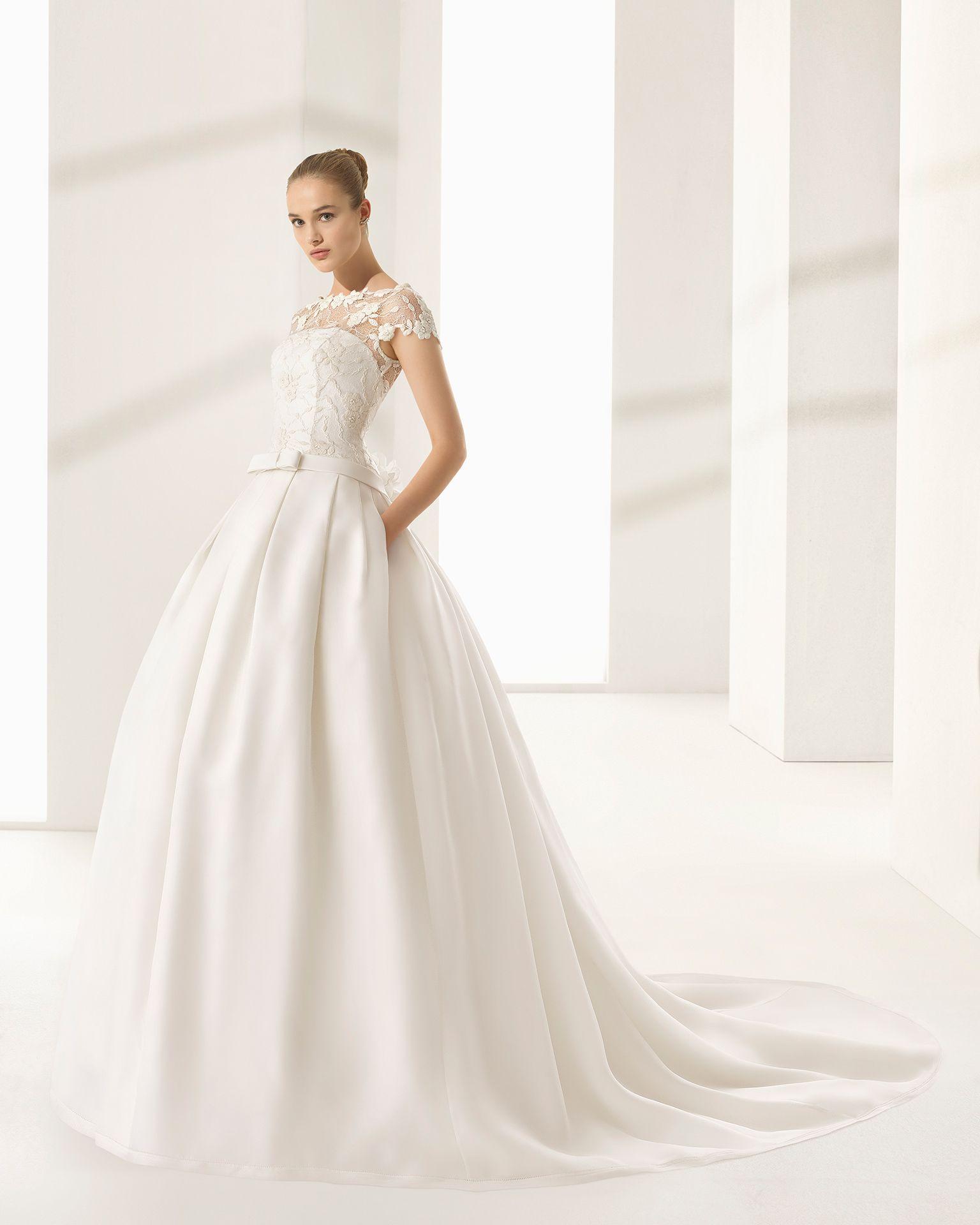 DALLAS - Novia 2018. Colección Rosa Clará Couture | Vestido de novia ...