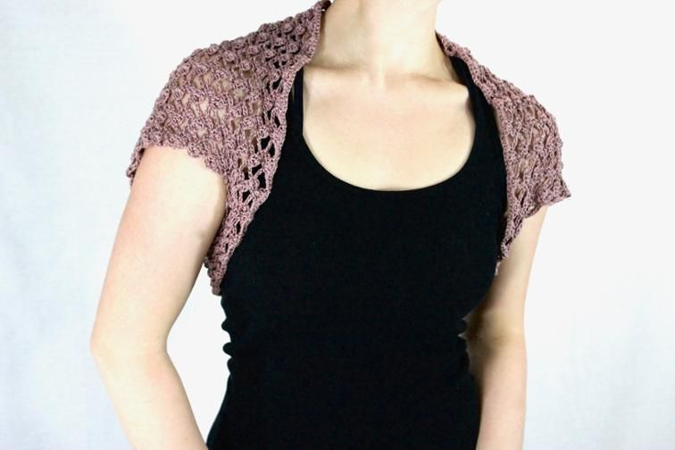 Spring And Summer Lace Shrug Whole Lotta Knotting Crochet Patterns