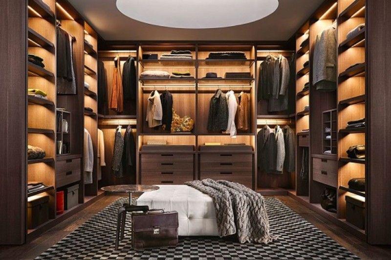 Luxus Schranke Verdienen Den Scheinwerfer Auf Ihrem Schlafzimmer Ankleideraum Design Wohnung Schlafzimmer Dekoration Luxusschlafzimmer