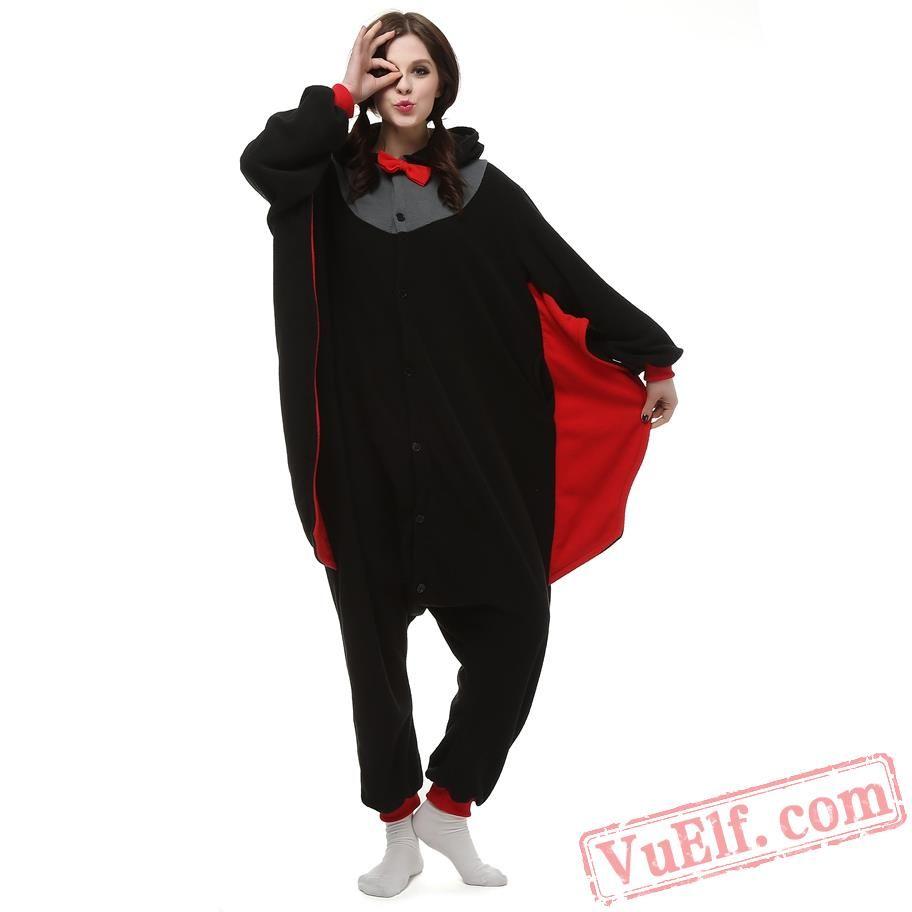 Bat Kigurumi Onesie Pajamas Animal Kigurumi Costumes