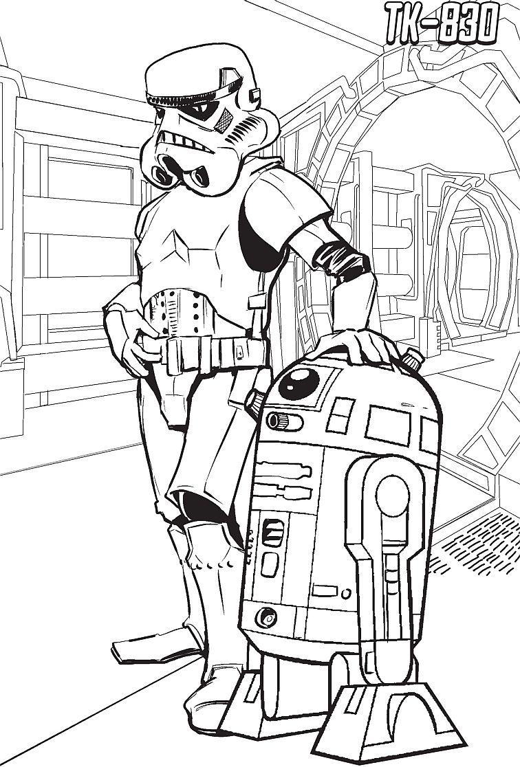 Kolorowanki Star Wars Gwiezdne Wojny Strona 3 Dla Kolorowanki