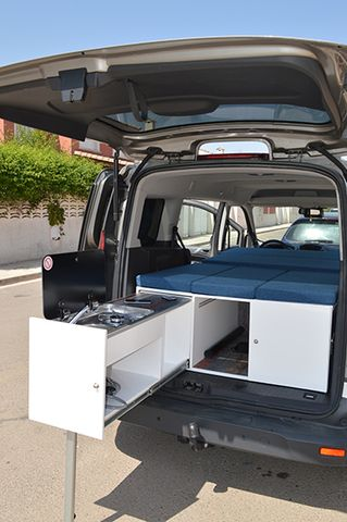 Mueble Camper Para Ford Transit Connect Por Sus Medidas Es V Lido Para Otros Modelos Hacemos Muebles Para Cualquier M Mueble Camper Furgoneta Camper Camper