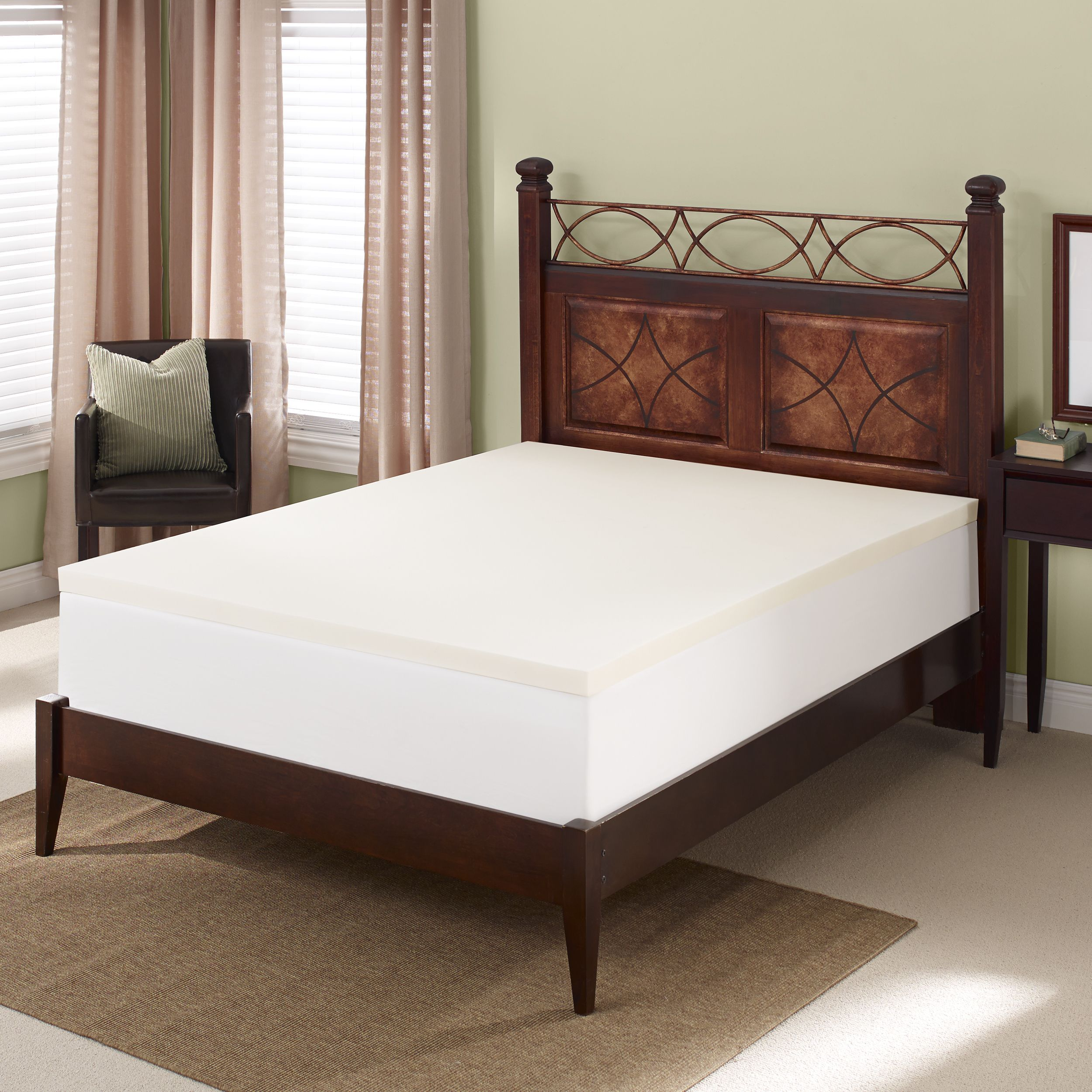 Get a good night of sleep with this comfortable Serta