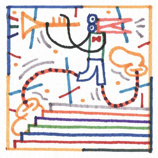 Mr L'Agent / Illustration / Jordy van den Nieuwendijk / Arthur King Summer Mix