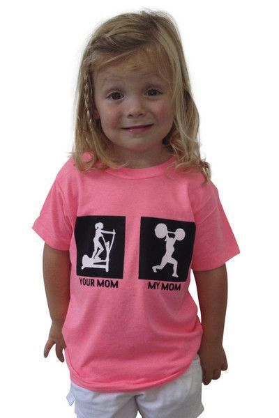 15d6a591 My Mom Your Mom CrossFit Kids Shirt | CrossFit Clothing | Crossfit ...