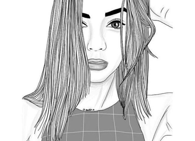 Pin By Katie Lovett On Tumblr Outlines In 2018 Dessin Tumblr
