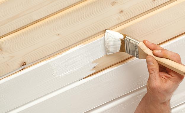 Holzdecke Streichen Mit Aqua Holz Isolier Und Deckfarbe Jaegerlacke Holzdecke Isolierfarbe Holzdecke Streichen Holzdecke Holzdecken