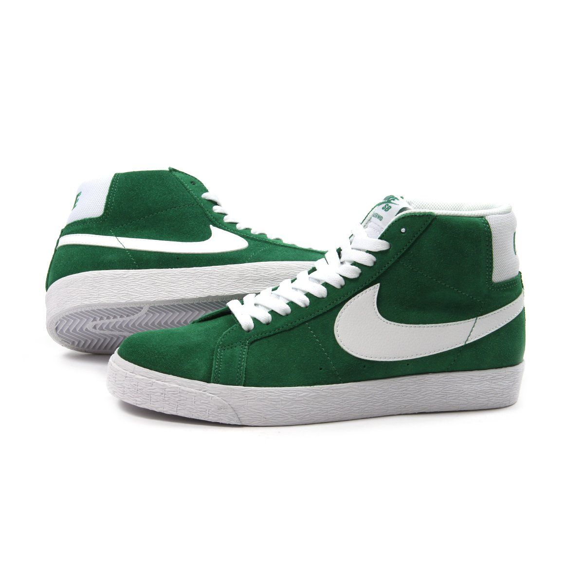 a7104035f800f9 Nike SB Zoom Blazer Mid (Pine Green White)