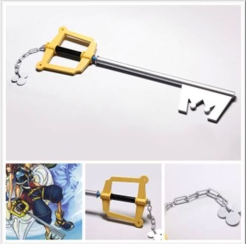 Free shipping CostumeOK Kingdom Hearts Cosplay Weapon Sora Mickey Keyblade Weapon Brand New Wholesale US $120.99
