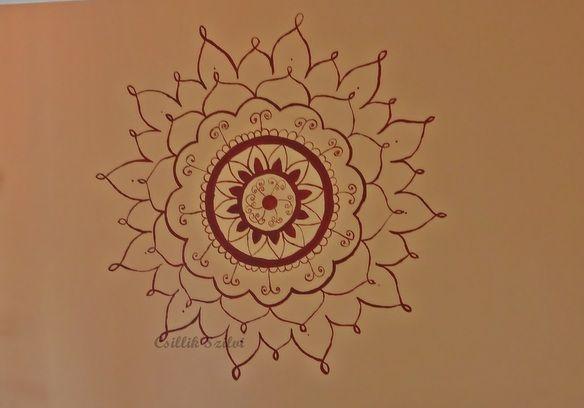 Nappali Mandala Living Room Wall Painting
