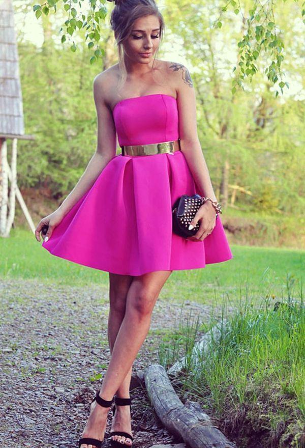 Vamos de fiesta: Lindos vestidos de moda para fiesta 2016 | Hoy ...