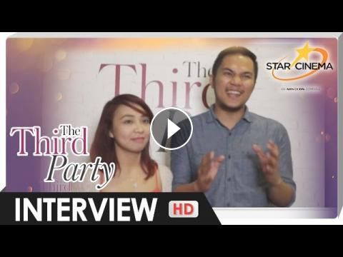 Real life 'Max' and 'Andi' share how they see themselves in 'The Third Party': Related to Andi and Max's story in The Third Party? Listen…