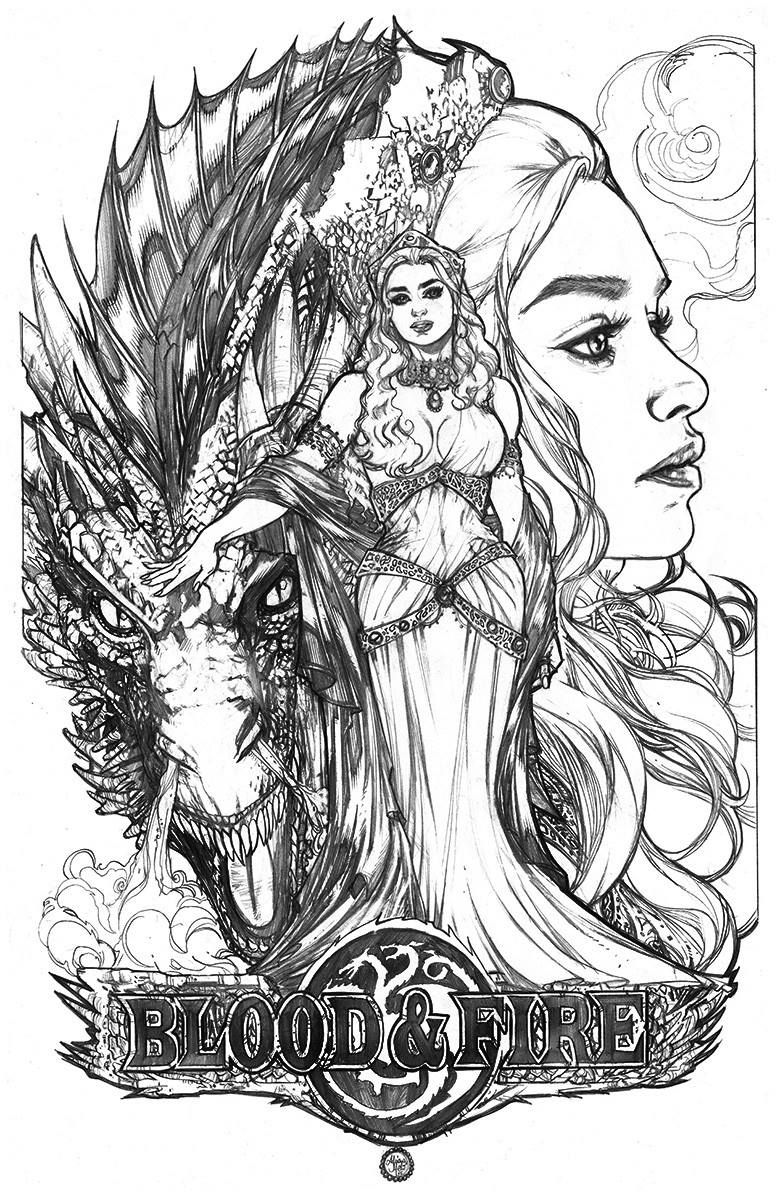 Game of Thrones: Daenerys - Blood and Fire by Adriana Melo * | ART ...