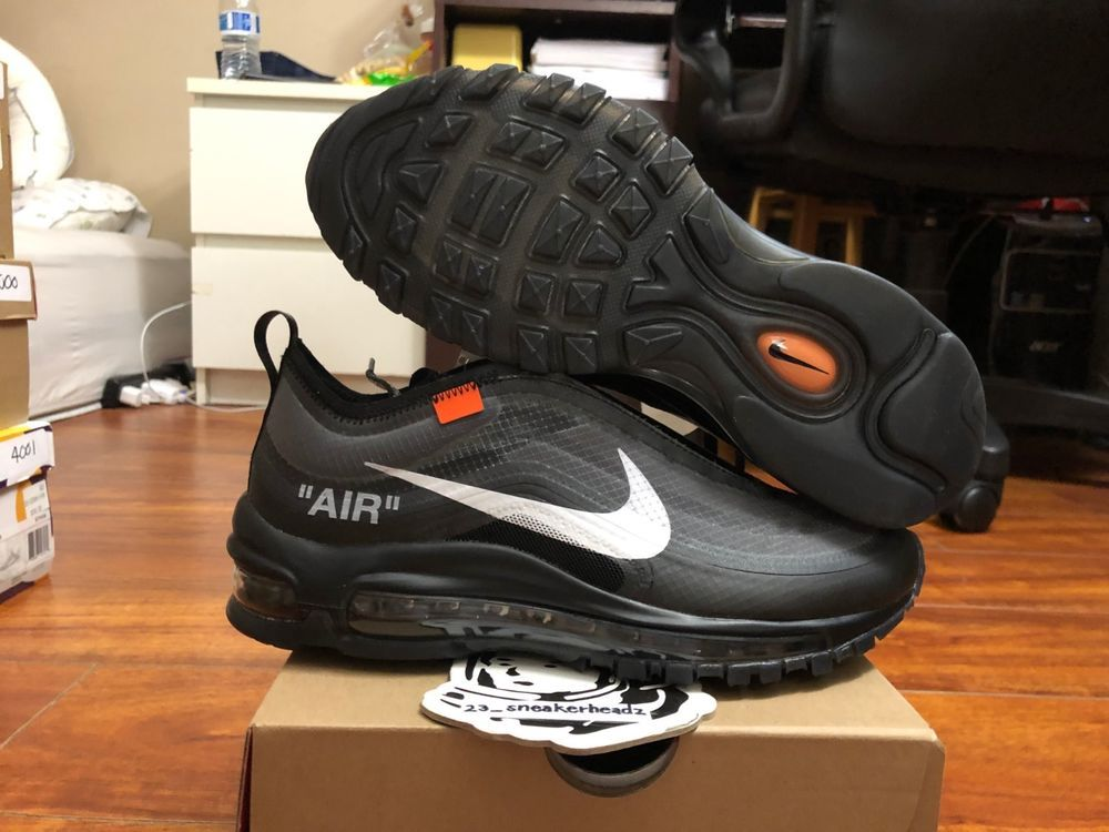 deb4fb622 goVerify Genuine Seller  23 Sneakerheadz  One of our favorite sellers on  eBay. For Sale  Nike Off-White Air Max 97 Black.